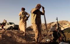 الصورة: مصرع قيادات ميدانية حوثية بارزة في معارك مأرب