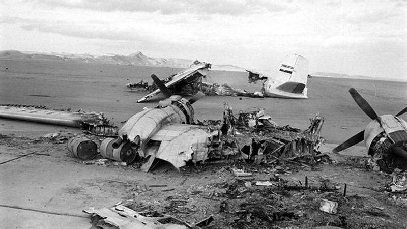 الطيران المصري تعرض للدمار الكامل في المطارات خلال حرب 1967.    أرشيفية