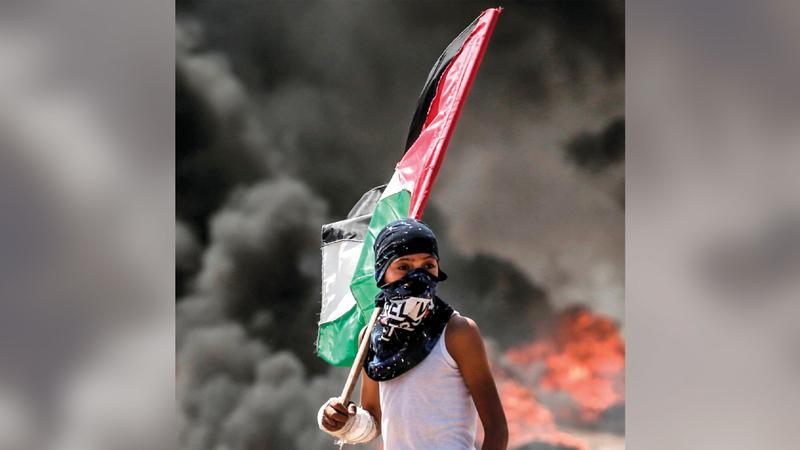 توتر الأوضاع في الأراضي الفلسطينية يحتاج إلى مقاربة جديدة من إدارة بايدن.  أرشيفية