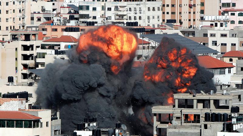 الوساطة الأميركية لوقف إطلاق النار في غزة جاءت متأخرة.   أرشيفية
