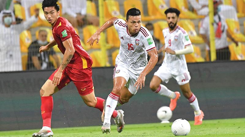 ليما ظهر بمستوى جيد مع المنتخب وسجل 4 أهداف.   تصوير: أسامة أبوغانم