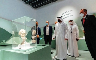 الصورة: «اللوفر أبوظبي» يفتح أبوابه بـ «مغامرة جديدة في عالم الفن»