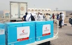 الصورة: الإمارات ترسل 60 ألف جرعة من لقاح «كوفيد-19» إلى سقطرى