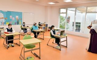 الصورة: التعليم حضوري في أبوظبي العام الدراسي المقبل