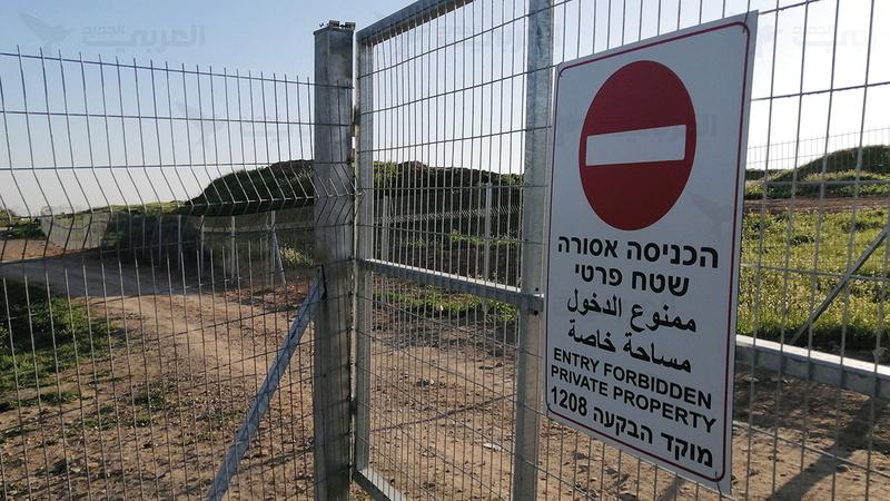بوابات نبع «عين الساكوت» موصدة في وجه الفلسطينيين.  الإمارات اليوم