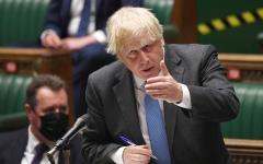 الصورة: رئيس الوزراء البريطاني يعتبر وزير صحته «شخصاً ميؤوساً منه»