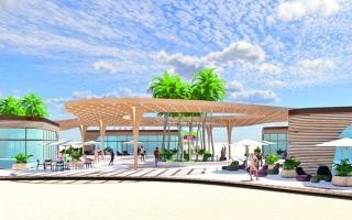 الصورة: أعمال التطوير تغلق شاطئ اللؤلؤية في خورفكان
