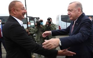 الصورة: الكرملين: روسيا تراقب محادثات عن قاعدة عسكرية تركية في أذربيجان