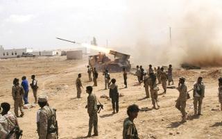 الصورة: معارك طاحنة وغارات في جبهات مأرب والجوف