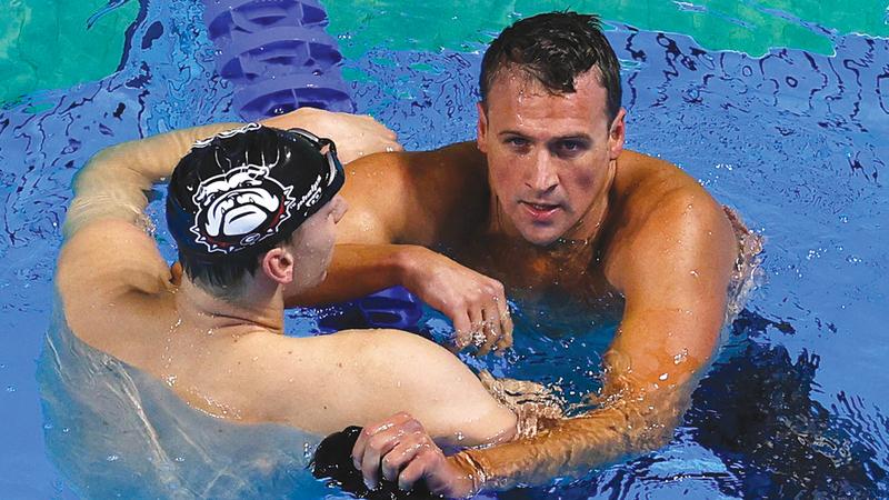 صورة تبخّر حلم السباح الأميركي لوكتي بأولمبياد خامس – رياضة – عربية ودولية