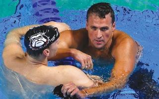 الصورة: تبخّر حلم   السباح الأميركي لوكتي بأولمبياد خامس