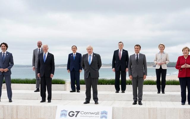 الصورة: قمة الدول الصناعية تؤكد على عودة صلابة تحالف العالم الغربي