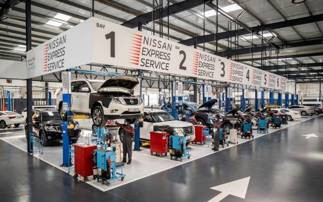 الصورة: افتتاح جديد لمركز خدمة سيارات نيسان على شارع الشيخ زايد في دبي