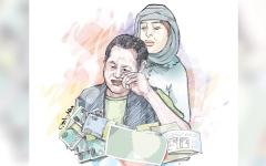 الصورة: متبرّعة تتكفل بمساعدة «إحسان» بـ 13 ألف درهم