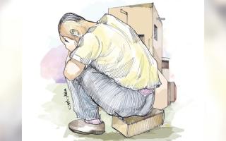 الصورة: «أبومصطفى» يحتاج 52.6 ألف درهم متأخرات إيجارية ومدرسية