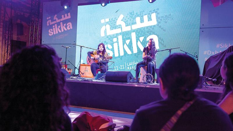 مهرجانات «دبي للثقافة» تولي اهتماماً كبيراً بالموسيقى.   أرشيفية