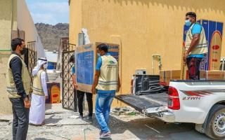 الصورة: «خيرية الفجيرة» تطلق «برداً وسلاماً» لـ800 ألف مستفيد