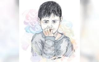 الصورة: «محمد» يحتاج إلى 330 ألف درهم للعلاج لمدة عام