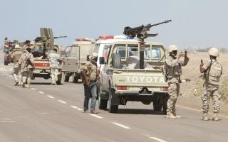 الصورة: «التحالف» يدمر مسيرة حوثية باتجاه السعودية.. وتقدمات نوعية للجيش اليمني في مأرب
