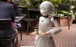 الصورة: طوكيو.. مقهى روبوتات يديره أصحاب همم من المنزل