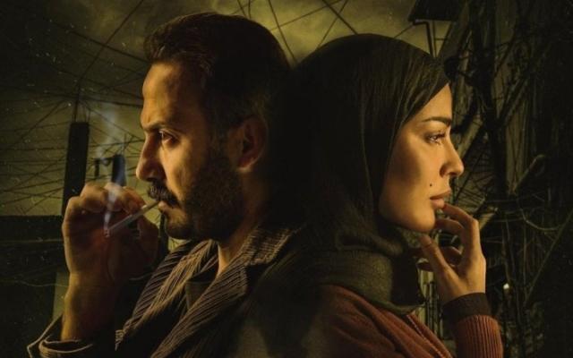 """الصورة: شاهد سقوط نادين نجيم و قصي خولي في مشهد مسرب من"""" 2020"""""""