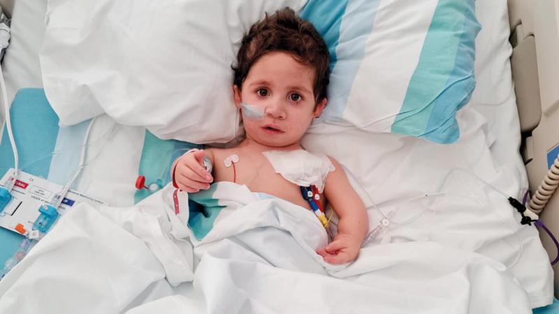«محمد» يخضع حالياً للإشراف والمتابعة الطبية. من المصدر