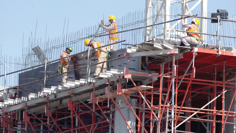 التأثير الأكبر سيطال المشروعات التي لاتزال قيد الإنشاء والمتوقع إنجازها خلال الفترة المقبلة.   أرشيفية