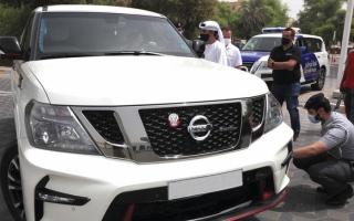الصورة: شرطة أبوظبي: الإطارات الرديئة خطر على الطريق
