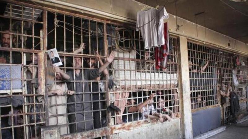 سجن صيدنايا سيئ السمعة يلقى فيه السجناء معاملة لا إنسانية.  أرشيفية