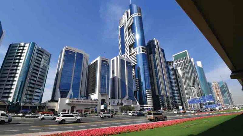 السوق العقارية في دبي تمرّ حالياً بفترة انتعاش قوية.  تصوير: باتريك كاستيلو
