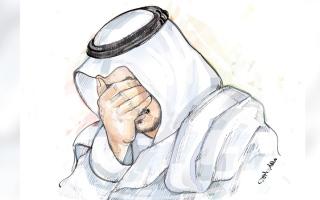 الصورة: «هلال» مسجون على ذمة نفقة شرعية بـ 140 ألف درهم
