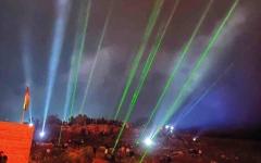 الصورة: بالصور.. «الإرباك الليلي».. وسيلة سكان «بيتا» لدرء الاستيطان