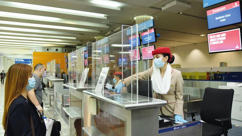 الناقلة تقدم حالياً حل «جواز سفر إياتا» لعملائها الذين يسافرون إلى 10 مدن.   من المصدر
