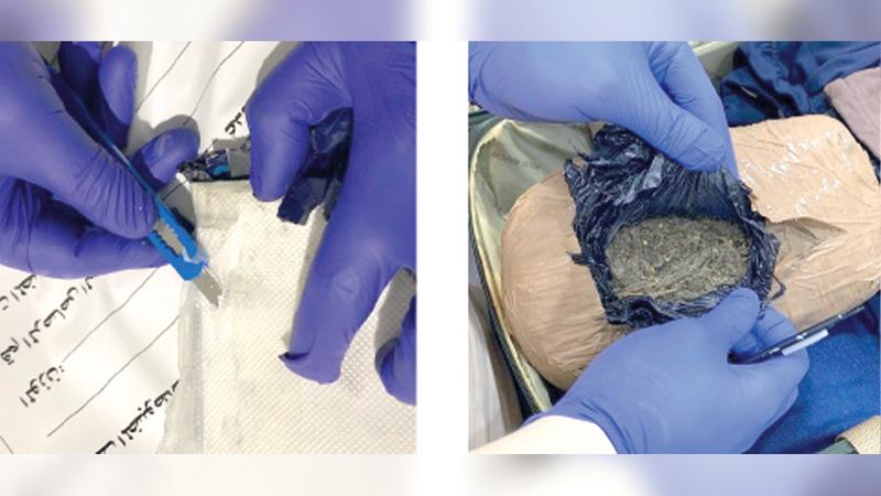 ضباط جمارك دبي لديهم مهارات لكشف محاولات تهريب المخدرات.    من المصدر