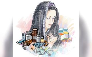 الصورة: «لطيفة» تحتاج إلى أدوية لمدة عام بـ 17.7 ألف درهم