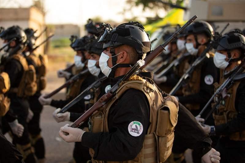 «الحشد الشعبي» يعلن مقتل 4 من مقاتليه في الضربات الأميركية.     أرشيفية