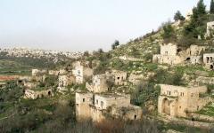 الصورة: «لفتا».. قرية مُهجّرة تتحول إلى حي استيطاني