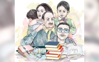 الصورة: «أسرة أم فارس» تحتاج إلى 70.3 ألف درهم متأخرات إيجارية ودراسية