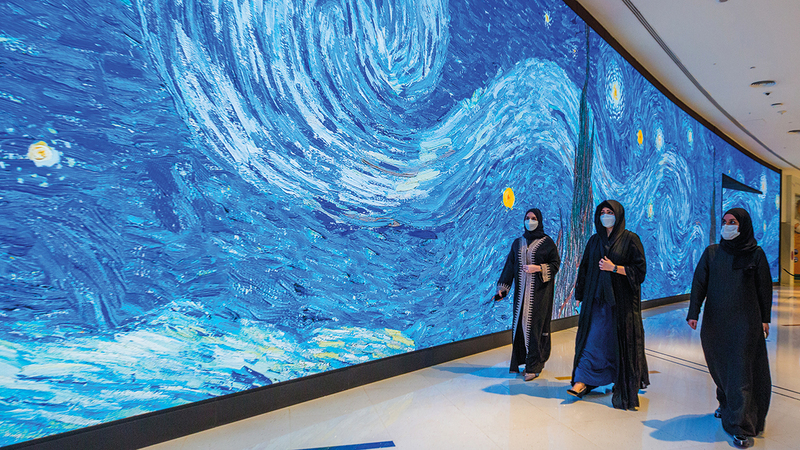 لطيفة بنت محمد: المركز خطوة مهمة في مسيرة الإمارة نحو العالمية.   وام