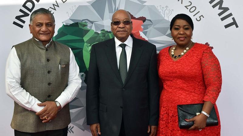 قمة منتدى الهند إفريقيا في أكتوبر 2015.   أرشيفية