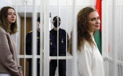 الصورة: 5 ناشطات في بيلاروسيا يتحدّين سلطة الأمر الواقع