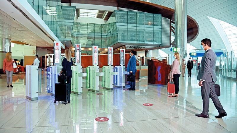 «طيران الإمارات» أكدت أنها على أهبة الاستعداد لإدارة الطفرة في حركة الركاب.   من المصدر