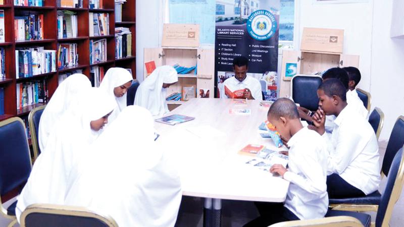 الكتب تسعى لتمكين الأطفال من المحافظة على لغتهم وموروثهم الثقافي العربي.   من المصدر