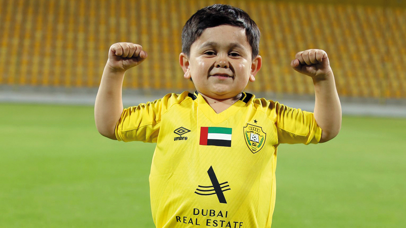 الطفل عبدو روزيق.   من المصدر