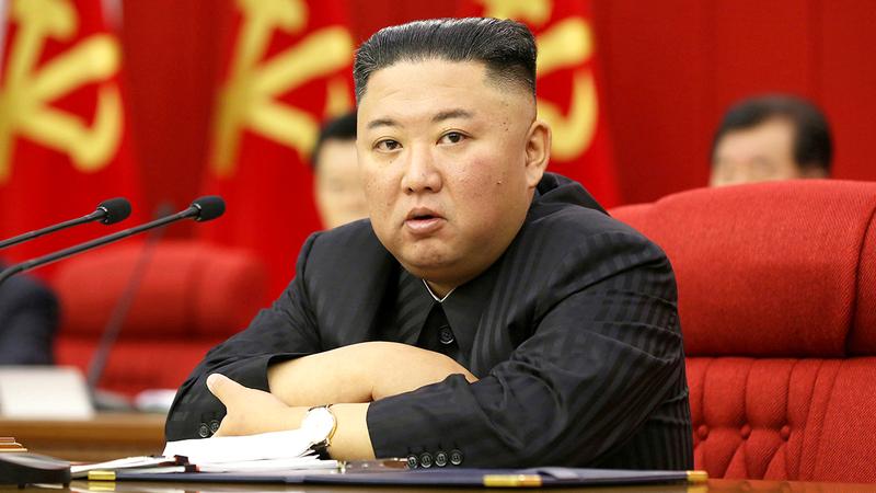 الزعيم الكوري الشمالي ينصح النساء بمحاربة الثقافة الأجنبية.  رويترز
