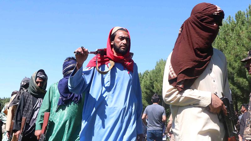 مقاتلو «طالبان» يثيرون فزع شرائح كثيرة من الشعب الأفغاني.  إي.بي.إيه - أرشيفية