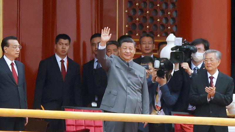 الرئيس شي جينبينغ: مسار بلادنا لا رجوع عنه.  رويترز