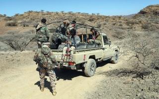 الصورة: «التحالف» يُحبط أعمالاً عدائية لميليشيات الحوثي باتجاه السعودية