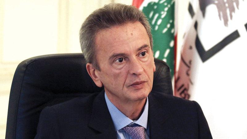 «سلامة» كان يعد صمام الاستقرار في لبنان لكنه يخضع للتحقيق في فرنسا الآن.  رويترز
