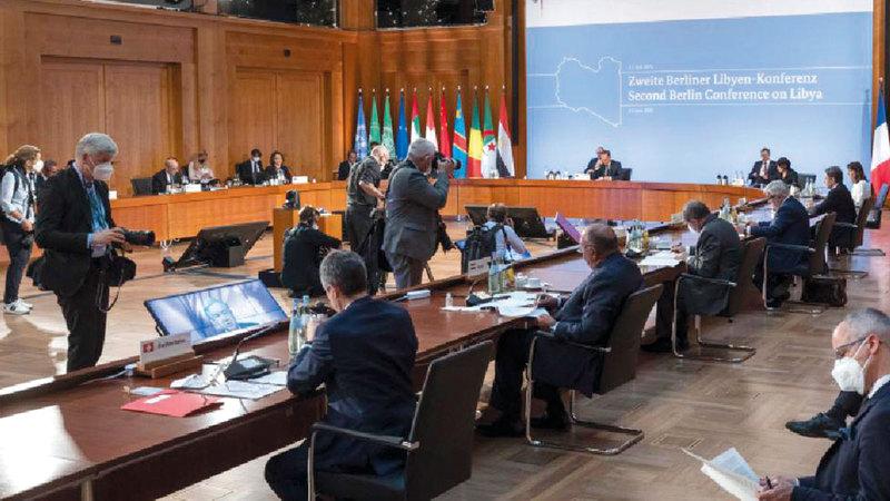مؤتمر برلين لم يفلح في فك الخيوط المتشابكة التي تعقد المشهد الليبي.  أرشيفية